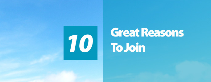 10 Great Reasons To Join