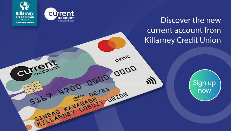 Current Accounts at Killarney Credit Union